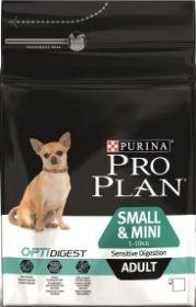 PRO PLAN ADULT SMALL SENSETIVE DIGESTION для собак мелких и карликовых пород с чувствительным пищеварением Ягненок и Рис 7 кг