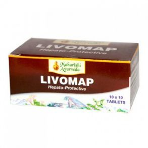 Ливомап / Livomap (МА) 100 таб/Гепатопротектор.