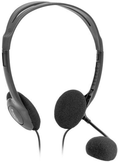 Мониторные наушники с микрофоном Defender Aura HN-102 (1.8 метра)