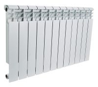 Радиатор алюминиевый Rommer Profi 12 секций 500-80-100