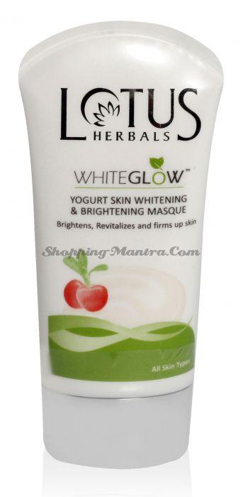 Отбеливающая йогуртовая маска для лица Лотус Хербалс / Lotus Herbals Whiteglow Yogurt Masque
