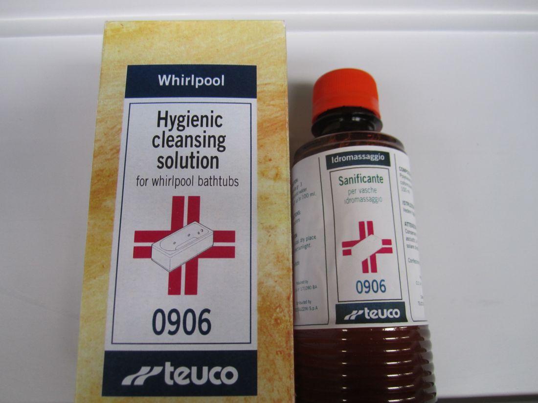 Средство для дезинфекции душевых кабин и гидромассажных ванн 100мл. (№7)