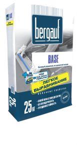 Цементная смесь д/предварительного выравнивания полов Base 25кг Bergauf 1уп=56шт