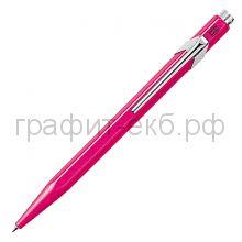 Ручка шариковая Caran d'Ache Office Popline пурпурный М 849.590
