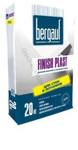 Шпатлевка финишная полимерная Finish Plast 20кг Bergauf 1уп=64шт