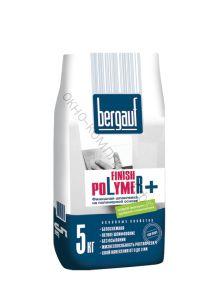 Шпатлевка финишная полимерная Finish Polymer 5кг Bergauf 1уп=108шт
