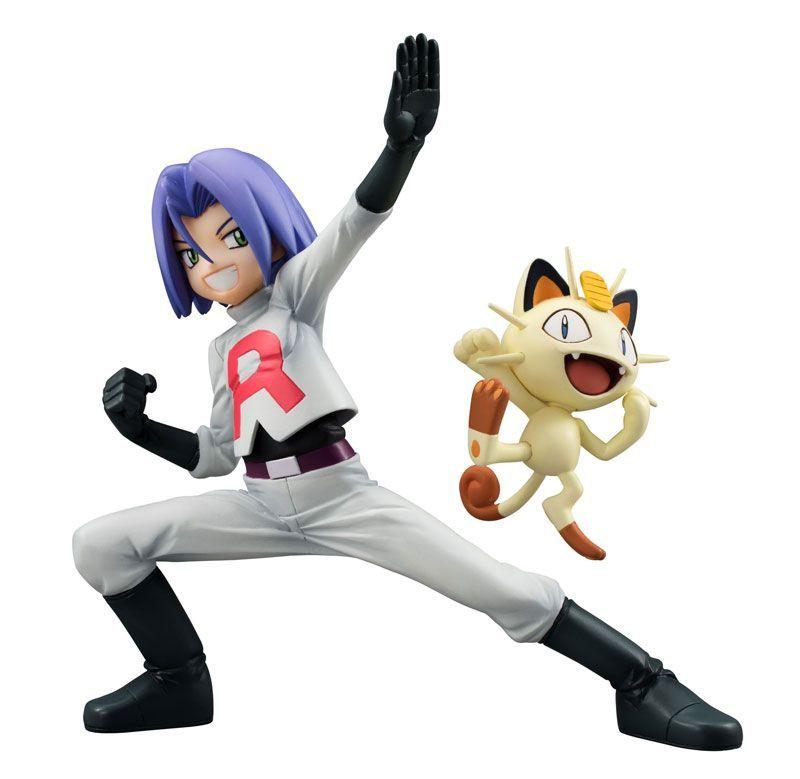 Фигурки Pokemon: James & Meowth