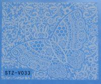 Наклейка водная для дизайна ногтей V033