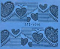 Наклейка водная для дизайна ногтей V040