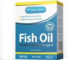 VP Laboratory Fish Oil 1000 mg (60 капс.)