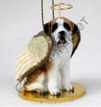 Сенбернар новогоднее украшение «Ангел»
