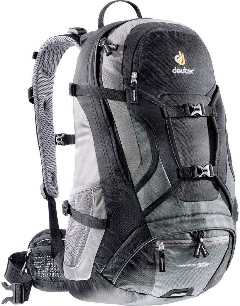 Deuter Extra Long Trans Alpine 32L EL black-granite экстремальный рюкзак