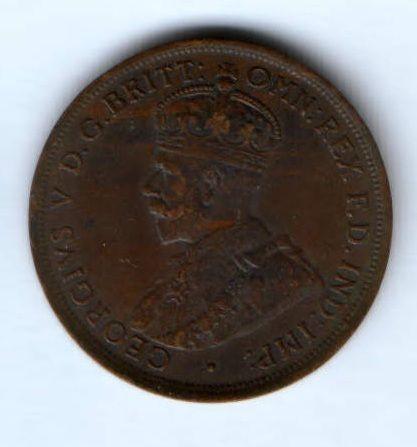 1 пенни 1911 г. Австралия