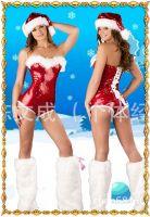 Рождественский купальник для пилона