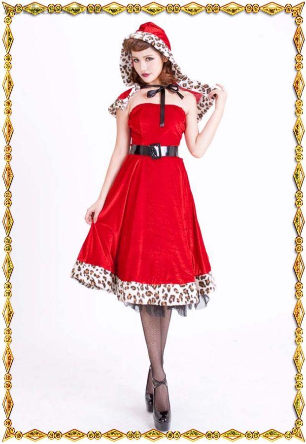 Бархатный костюм Красной шапочки