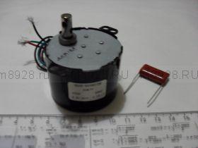 Микро мотор с редуктором ДСМ-2,5  6,5Вт  2,5об/мин, ~220В