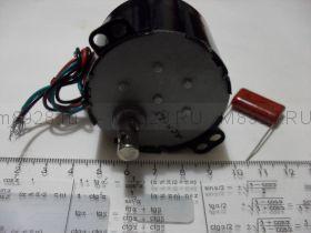Двигатель синхронный с редуктором ДСМ  6,5Вт 1,5об/мин  ~220В