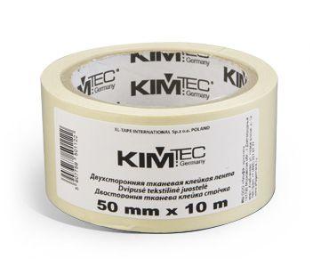 Лента KIM TEC двусторонняя на тканевой основе.