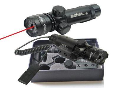 Лазерный прицел Следопыт HL-10 красный