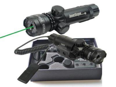 Лазерный прицел Следопыт HL-11 зелёный