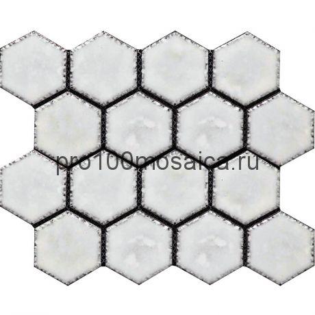 Hexa-21(4). Мозаика СОТЫ 66x77x10, серия Hexa,  размер, мм: 275*240 (GAUDI)