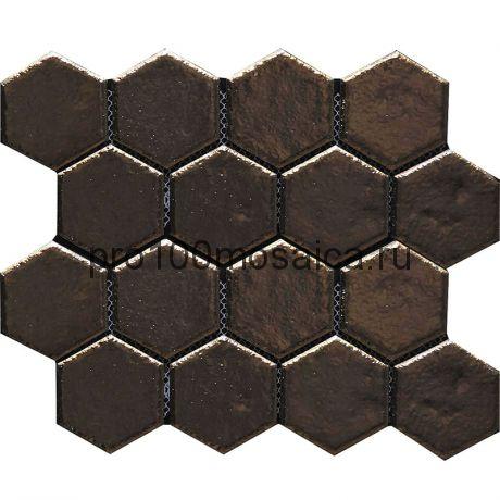 Hexa-28(4). Мозаика СОТЫ 66x77x10, серия Hexa,  размер, мм: 275*240 (GAUDI)