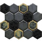 Hexa-32(4). Мозаика СОТЫ 66x77x10, серия Hexa,  размер, мм: 275*240 (GAUDI, Испания)
