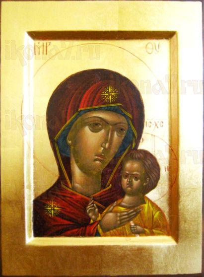 Петровская икона Божией Матери (рукописная)