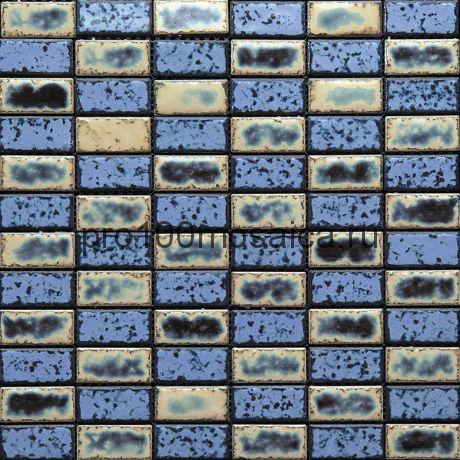 Brik-3(4). Мозаика 48x24x8, серия Brik,  размер, мм: 298*298 (GAUDI)
