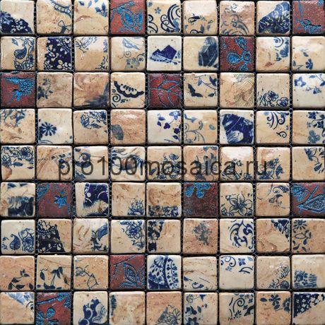 Hola-1(3). Мозаика 33x33x10, серия HOLANDA,  размер, мм: 315*315 (GAUDI)