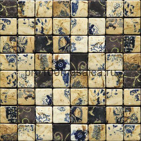 Hola-2(3). Мозаика 33x33x10, серия HOLANDA,  размер, мм: 278*278 (GAUDI)