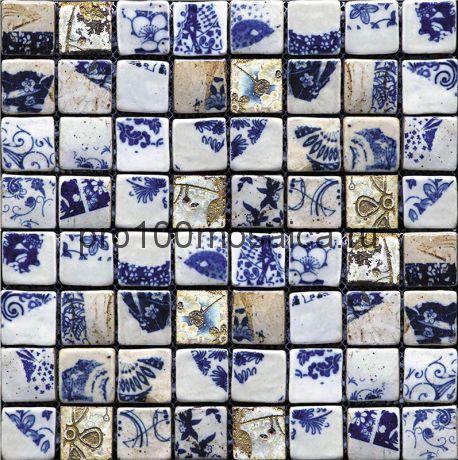Hola-4(3). Мозаика 33x33x10, серия HOLANDA,  размер, мм: 278*278 (GAUDI)