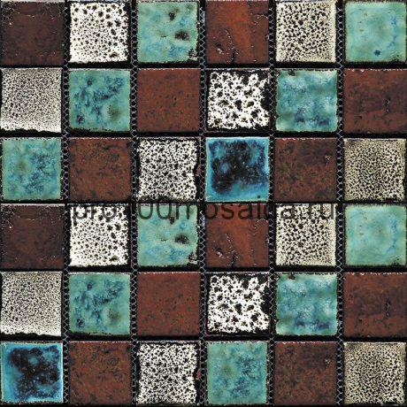 Orgn-26(4). Мозаика 45x45x10, серия ORGANICO,  размер, мм: 285*285 (GAUDI)