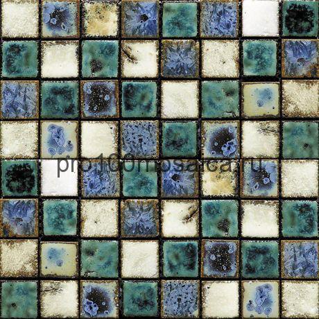 Rust-2(3). Мозаика 33x33x10, серия RUSTICO,  размер, мм: 280*280 (GAUDI)