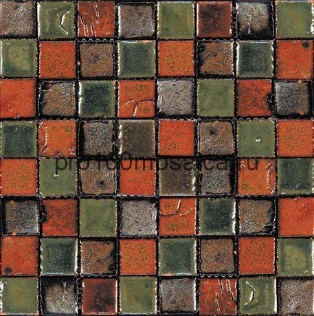 Rust-6(3). Мозаика 33x33x10, серия RUSTICO,  размер, мм: 280*280 (GAUDI)