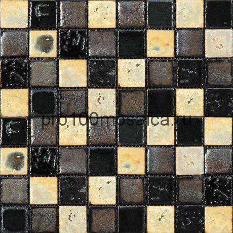 Rust-8(3). Мозаика 33x33x10, серия RUSTICO,  размер, мм: 280*280 (GAUDI)