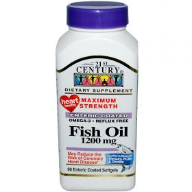 21st Century Health Care Fish Oil Maximum Strength 1200 mg (90 капс.)