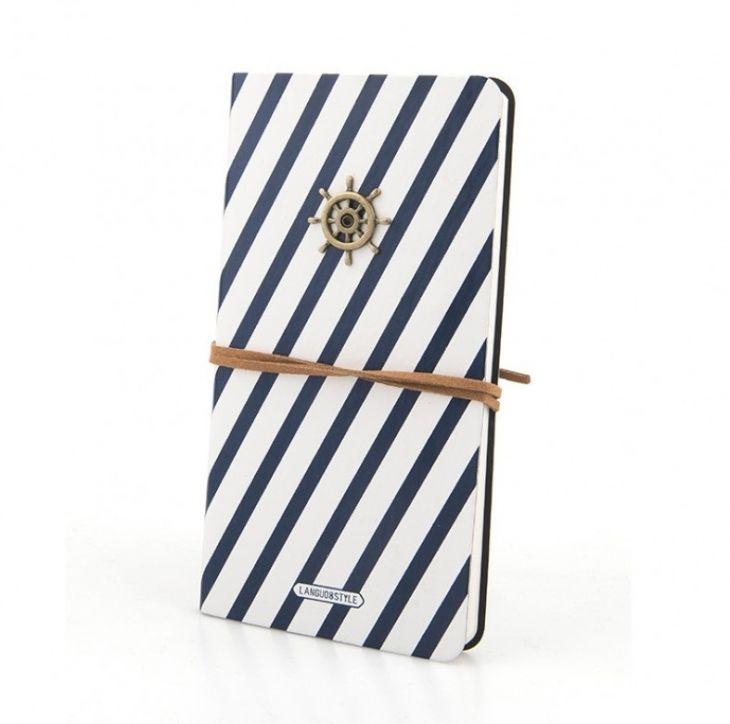 Блокнот в кожаной обложке «Sailor Vest»