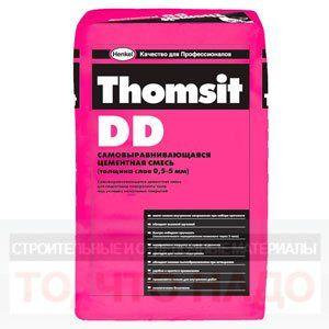 THOMSIT DD Ремонтная смесь для внутренних работ 1-100мм 25кг