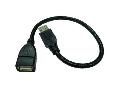 Кабель Переходник USB Орбита BS-418 (штекер USB-гнездо USB) 15см