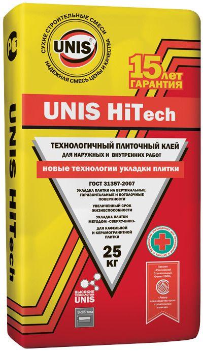 Плиточный клей Юнис HiTech 25кг.
