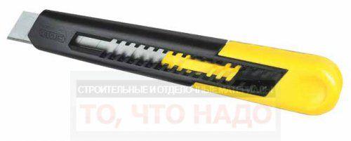 Нож Stanley с выдвижным лезвием 18 мм 0-10-151