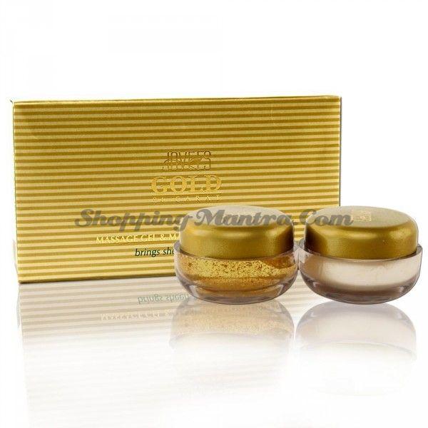 Массажный гель+Увлажнитель 24К золото Джовис /Jovees 24 Carat Gold Massage Gel&Moisturiser