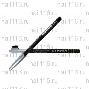 Косметический карандаш для бровей Rimalan PS201-1 черный