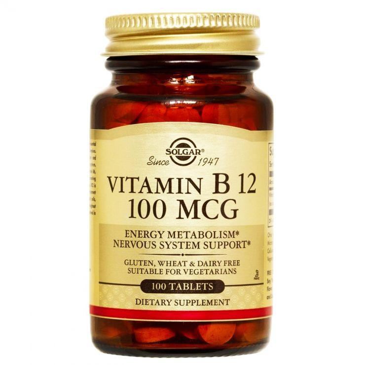 Витамин Б12 100 мкг