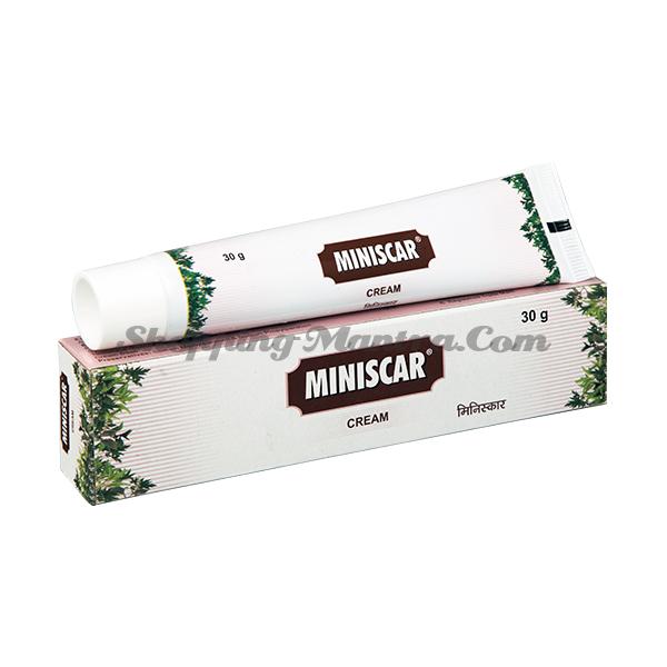 Крем против шрамов и растяжек Минискар Чарак / Charak Pharma Miniscar Cream