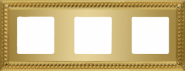 Sevilla Рамка 3-ная, Bright Gold