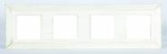 Barcelona Provence Рамка 4-ная, White Decape