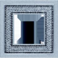 Crystal De Luxe Art  Рамка 1-ная, Bright Chrome
