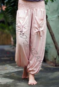 Женские шаровары с карманами, вискоза